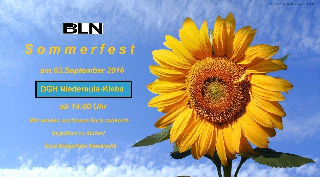 BLN Sommerfest